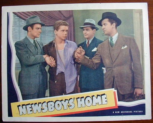 AB30 NEWSBOYS HOME Jackie Cooper original '38 LC
