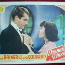 AF15 DRAMATIC SCHOOL Luise Rainer orig '38 lobby card