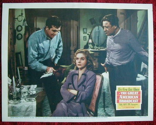 AF20 GREAT AMERICAN BROADCAST Alice Faye orig '41 LC