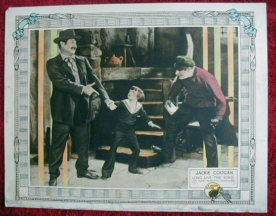 AH25 LONG LIVE THE KING Jackie Coogan orig '23  LC