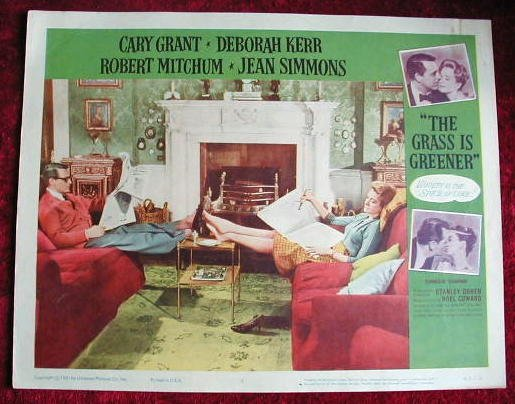 AI07 GRASS IS GREENER Cary Grant/Deborah Kerr  '61  LC