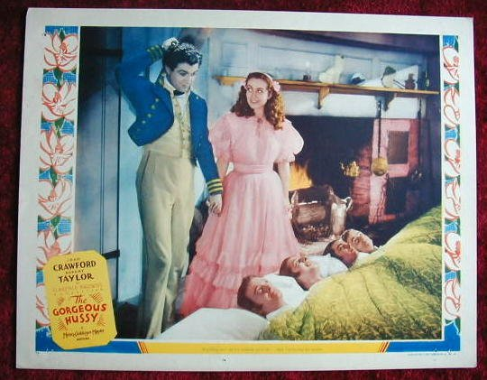 AL16 GORGEOUS HUSSY Joan Crawford TERRIFIC orig '36 LC