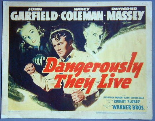 AR18 DANGEROUSLY THEY LIVE Garfield GREAT noir '42 TC