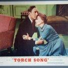 AR47 TORCH SONG Joan Crawford orig 1953 lobby card