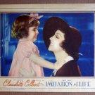 DL18 Imitation Of Life CLAUDETTE COLBERT '34 RARE LC