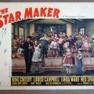 EA43 Star Maker BING CROSBY Original 1939 Lobby Card