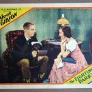 EB11 Fighting Parson HOOT GIBSON Orig 1933 Lobby Card