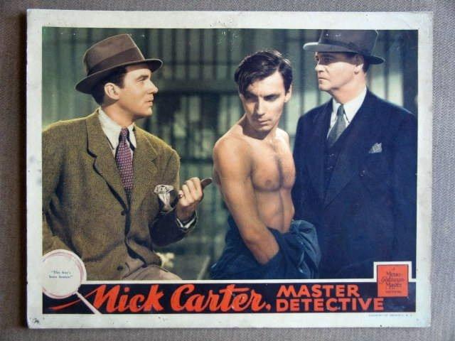 EB26 Nick Carter WALTER PIDGEON 1939 Lobby Card