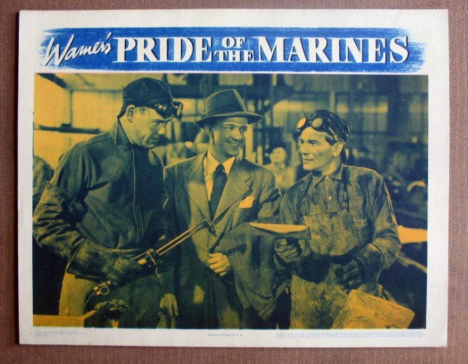 DK42 Pride Of The Marines JOHN GARFIELD '45 org MINT LC