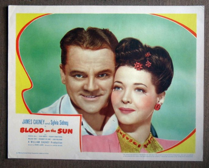 DP12 Blood On The Sun JAMES CAGNEY mint FABULOUS '45 LC