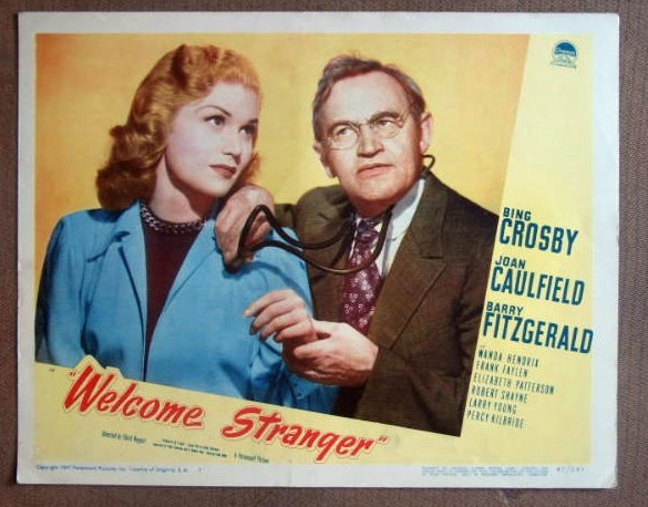 DS46 Welcome Stranger BARRY FITZGERALD 1947 Lobby Card
