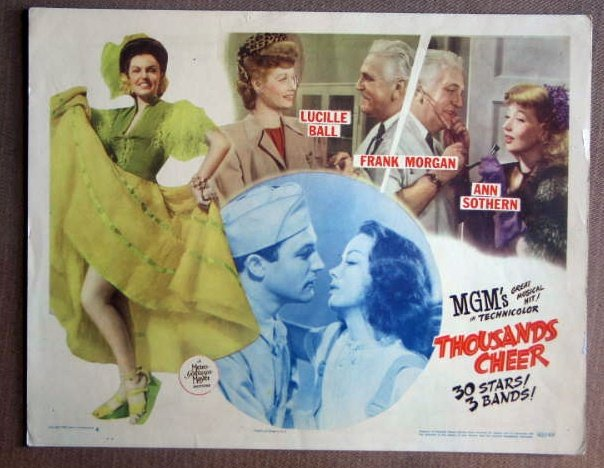 DT43 Thousands Cheer GENE KELLY/LUCILLE BALL Lobby Card
