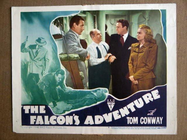DW19 Falcon's Adventure TOM CONWAY 1946 Lobby Card