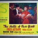 DX03 Belle Of New York FRED ASTAIRE/V ELLEN Lobby Card