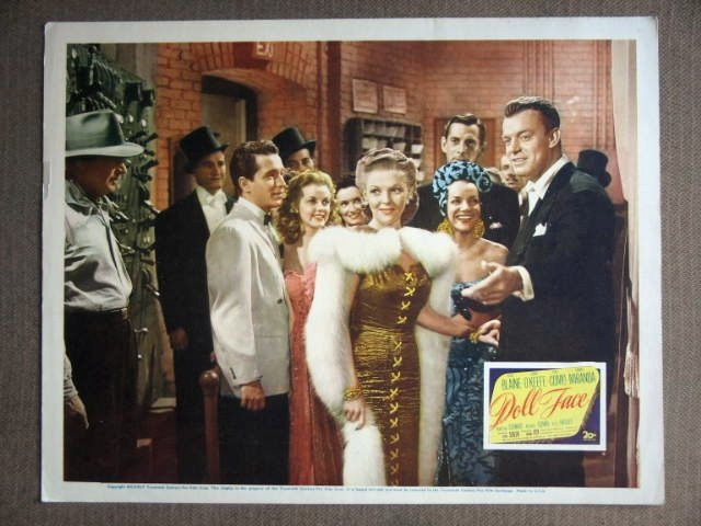 DX14 Doll Face PERRY COMO/VIVIAN BLAINE Lobby Card