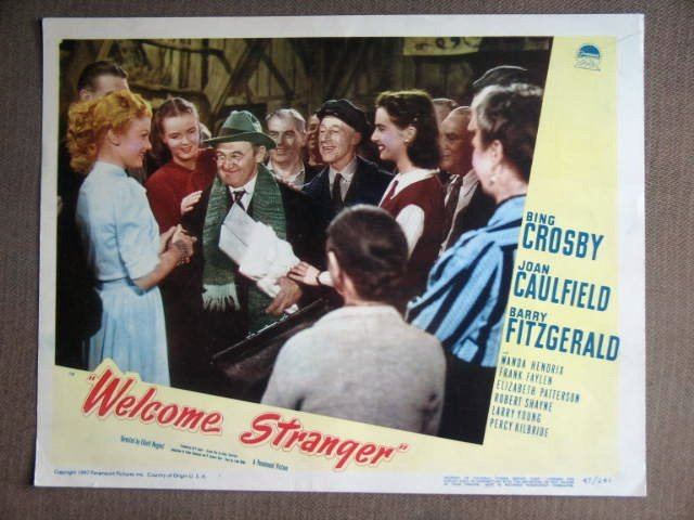 DY51 Welcome Stranger BARRY FITZGERALD 1947 Lobby Card