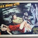 EA25 Her Jungle Love DOROTHY LAMOUR/MILLAND Lobby Card
