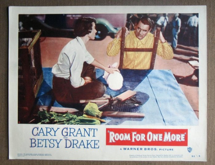 DM38 Room For One More CARY GRANT 1952  mint orig LC