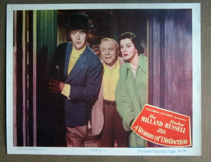 DM49 Woman Of Distinction ROSALING RUSSELL mint '50 LC