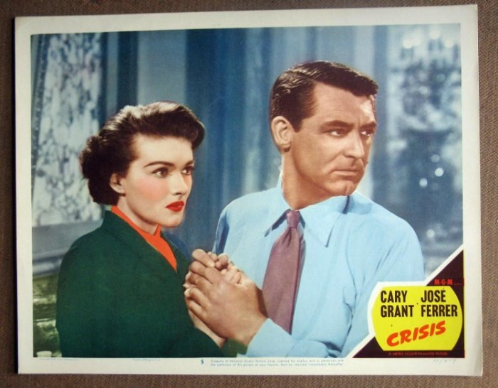 DO17 Crisis CARY GRANT/P RAYMOND Portrait MINT '50 LC