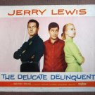 DP16 Delicate Delinquent JERRY LEWIS 1957 Lobby Card