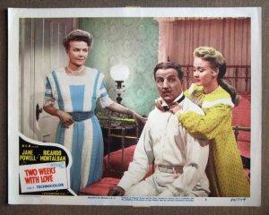 DP44 2 Weeks With Love JANE POWELL Orig 1950 Lobby Card