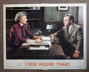 DQ45 Wilder Years JAMES CAGNEY/B STANWYCK  Lobby Card
