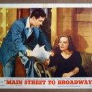 DV23 Main St To Broadway TALLULAH BANKHEAD Lobby Card