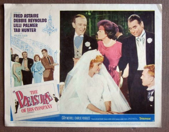 DS33 Pleasure Of His Co FRED ASTAIRE/HUNTER Lobby Card