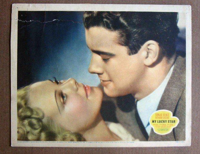 CW24 My Lucky Star SONJA HENIE 1938 PORTRAIT Lobby Card