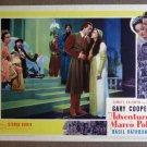 DA04 Adventures Of Marco Polo GARY COOPER '37  orig LC