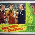 CT13 Dick Tracy vs Cueball MORGAN CONWAY Lobby Card