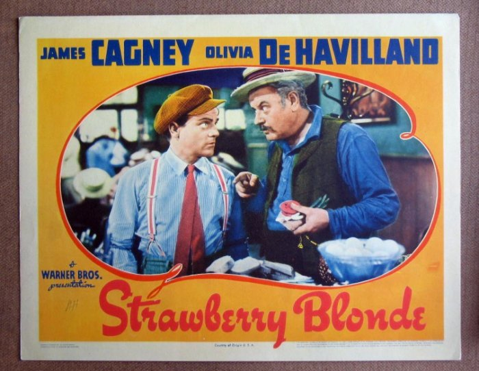 CY37 STRAWBERRY BLONDE James Cagney TERRIFIC '41 LC