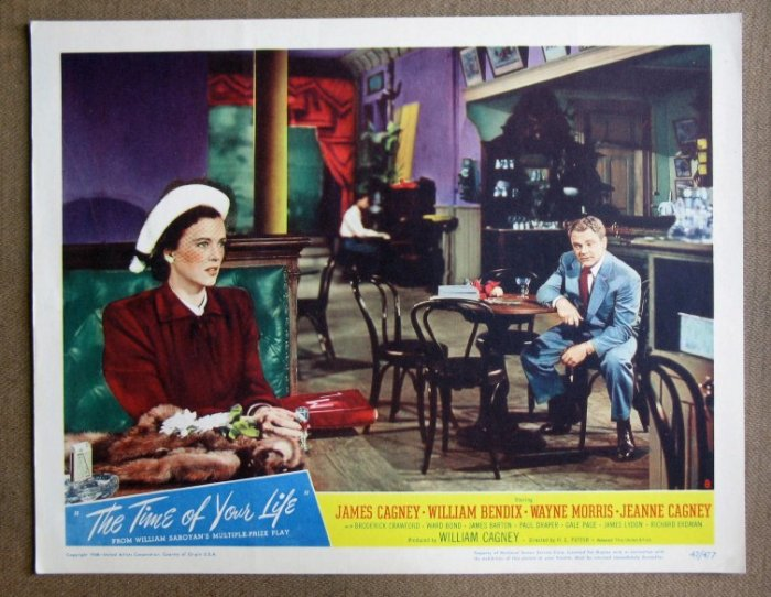 CY42 Time Of Your Life JAMES CAGNEY 1947 Lobby Card