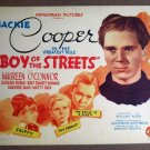 DD03 Boy Of The Streets JACKIE COOPER great orig '48 TC