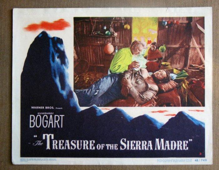 DI39 TREASURE OF SIERRA MADRE Holt/Huston orig '48 LC