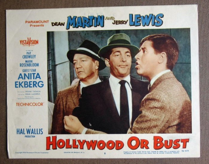 DB18 HOLLYWOOD OR BUSH Dean Martin/Jerry Lewis '56 LC