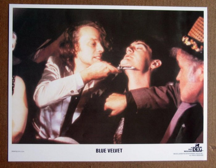 CZ02 BLUE VELVET Kyle MacLachlan/Dave Lynch mint '86 LC