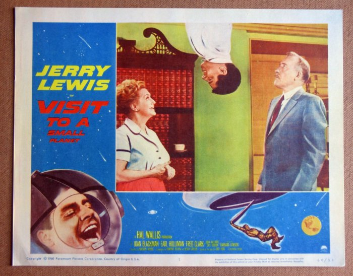 DC51 Visit To A Small Planet JERRY LEWIS '60 mint LC
