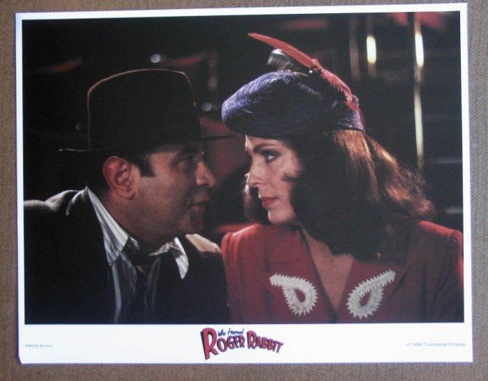 DF54 Who Framed Roger Rabbit WALT DISNEY '88 Lobby Card
