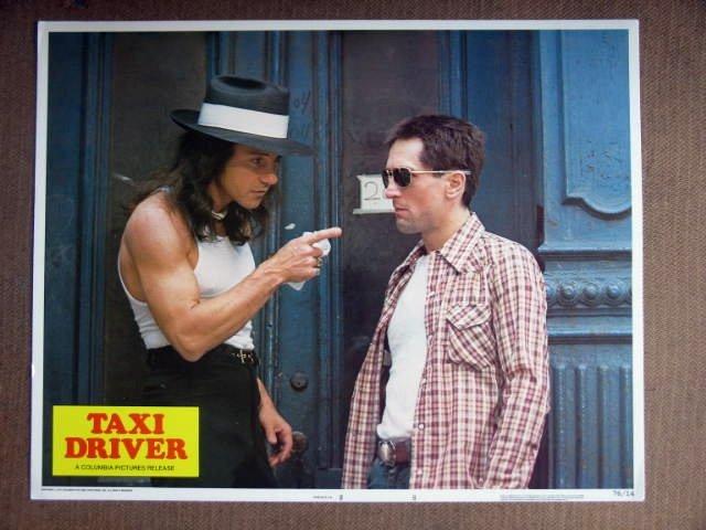 EE17 Taxi Driver ROBERT DeNIRO/HARVEY KEITEL Lobby Card
