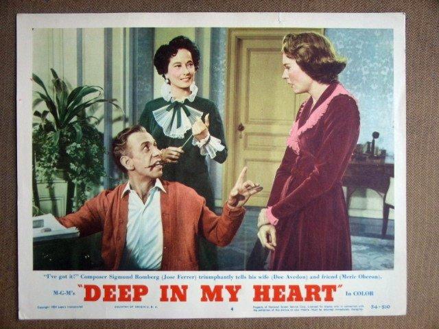 EF05 Deep In My Heart MERLE OBERON/J FERRER Lobby Card