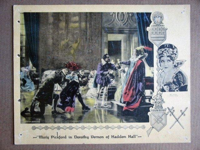 EF08 Dorothy Vernon Haddon MARY PICKFORD '24 Lobby Card