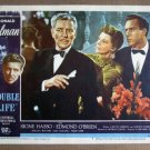 EG08 Double Life RONALD COLEMAN/SIGNE HASSO Lobby Card