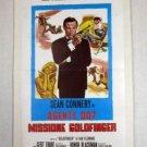 EH01 Goldfinger SEAN CONNERY/BOND Italian Folio Poster