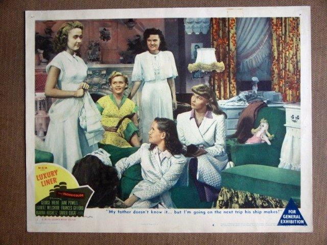 EH25 Luxury Liner JANE POWELL Original 1948 Lobby Card