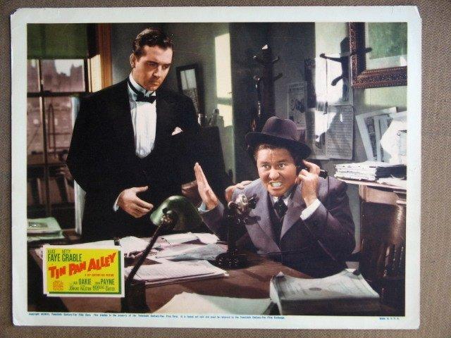 EK46 Tin Pan Alley JOHN PAYNE/JACK OAKIE Lobby Card