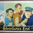 EL03 Adventure's End JOHN WAYNE '37 Portrait Lobby Card
