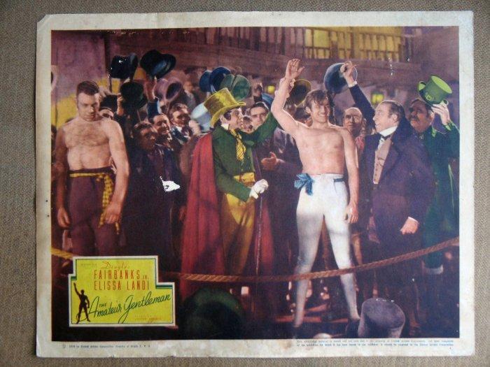 EM03 Amateur Gentleman DOUGLAS FAIRBANKS '36 Lobby Card
