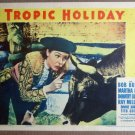EN50 Tropic Holiday MARTHA RAYE 1938 Lobby Card